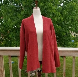 A New Day Red Knit Cardigan